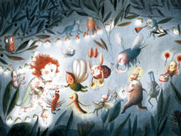 Une illustration pour enfants de Clotilde Perrin